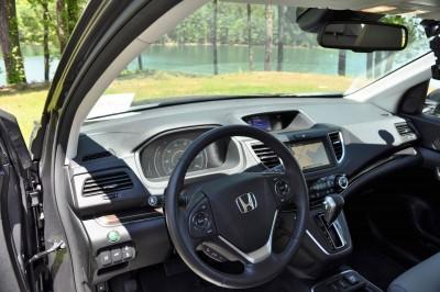 2015 Honda CR-V Touring AWD Review 73