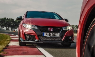 2015 Honda Civic Type R European Dynamic Launch 101