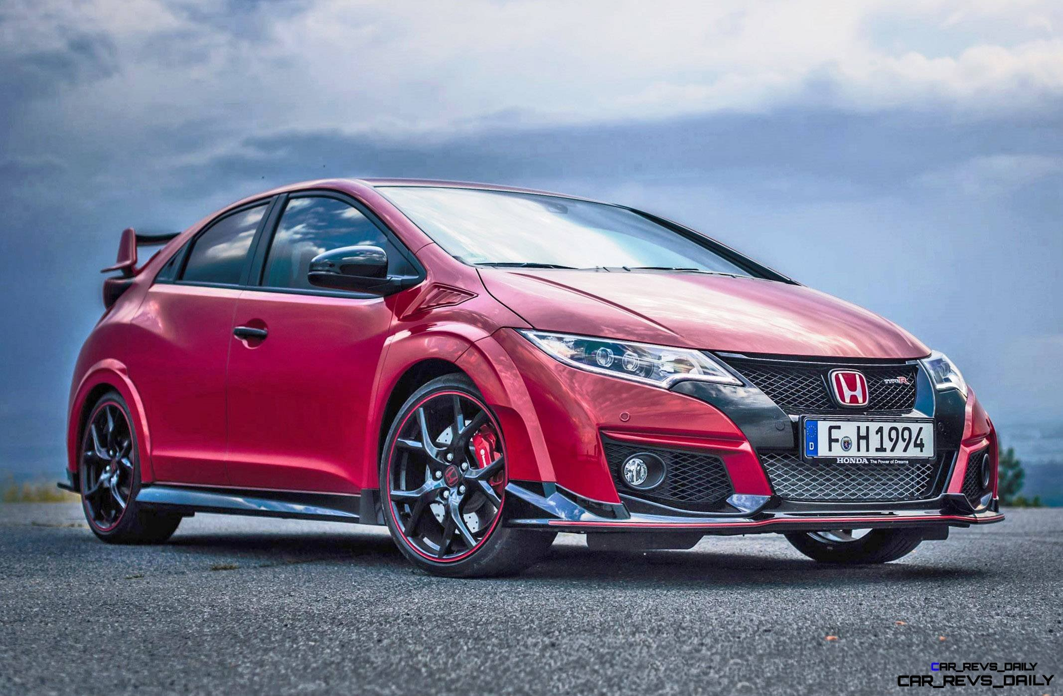 2015 Honda Civic Type R European Dynamic Launch 12