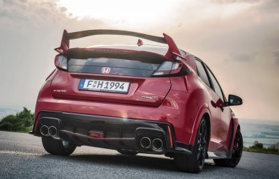 2015 Honda Civic Type R European Dynamic Launch 14