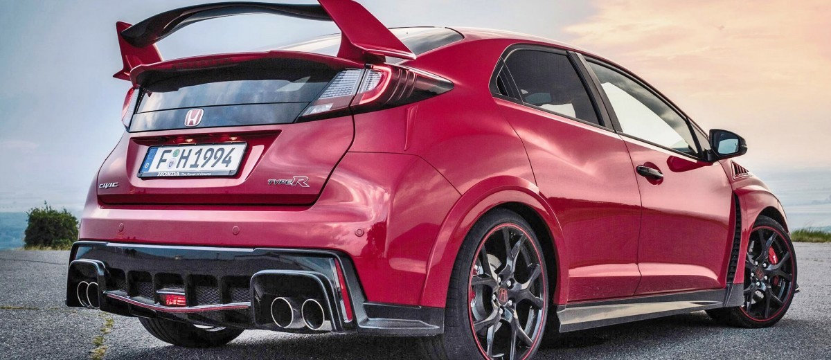 2015 Honda Civic Type R European Dynamic Launch 15