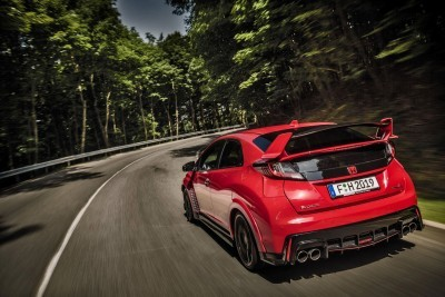 2015 Honda Civic Type R European Dynamic Launch 34