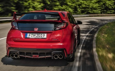 2015 Honda Civic Type R European Dynamic Launch 36