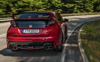 2015 Honda Civic Type R European Dynamic Launch 37
