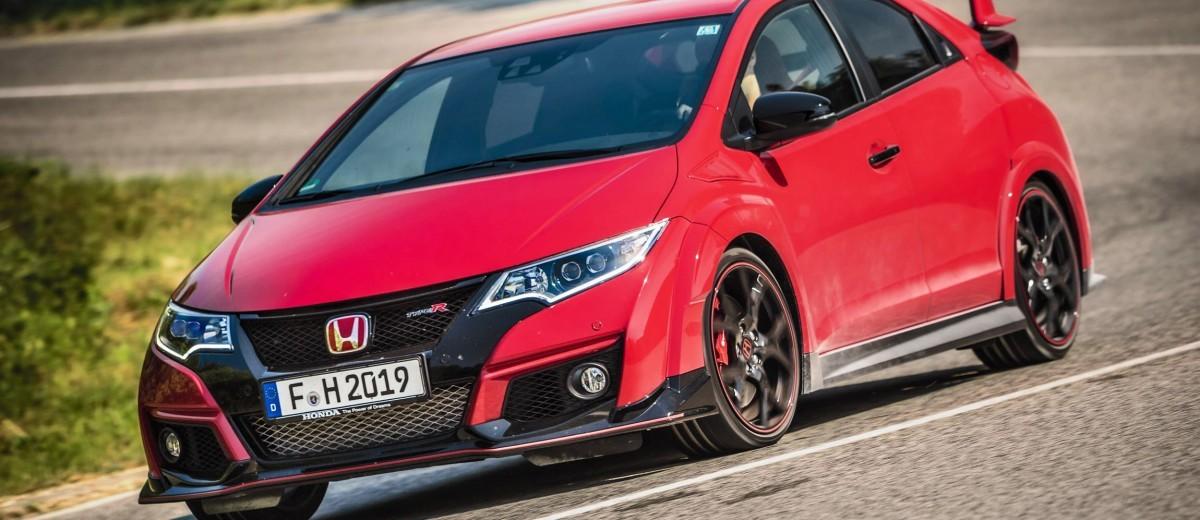 2015 Honda Civic Type R European Dynamic Launch 4