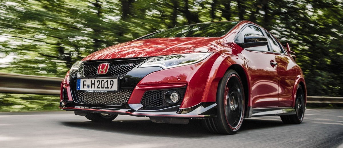 2015 Honda Civic Type R European Dynamic Launch 47