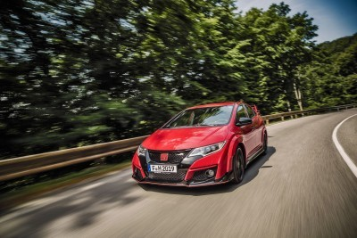 2015 Honda Civic Type R European Dynamic Launch 48