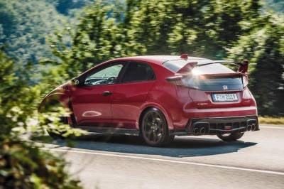 2015 Honda Civic Type R European Dynamic Launch 6