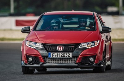 2015 Honda Civic Type R European Dynamic Launch 68
