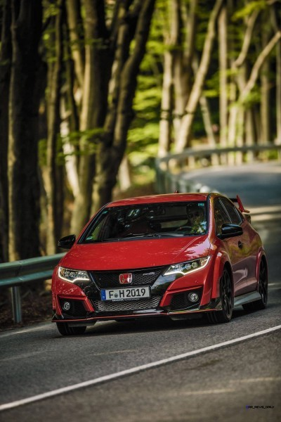 2015 Honda Civic Type R European Dynamic Launch 7