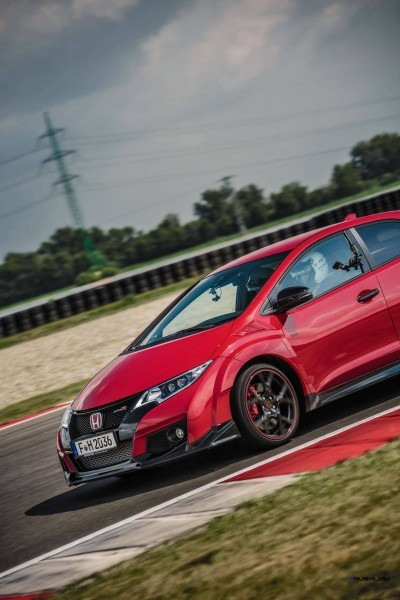 2015 Honda Civic Type R European Dynamic Launch 73