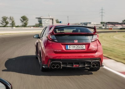 2015 Honda Civic Type R European Dynamic Launch 83