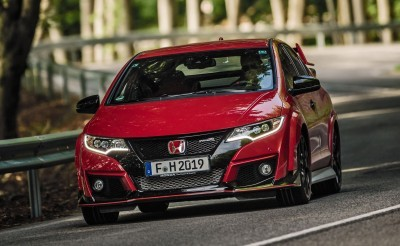 2015 Honda Civic Type R European Dynamic Launch 9