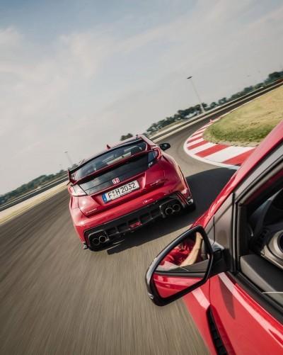 2015 Honda Civic Type R European Dynamic Launch 92