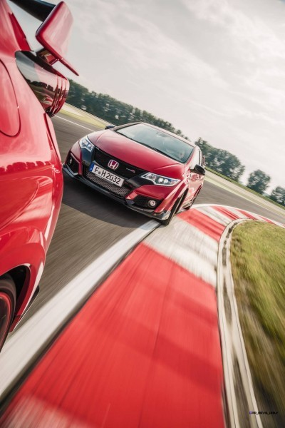 2015 Honda Civic Type R European Dynamic Launch 99