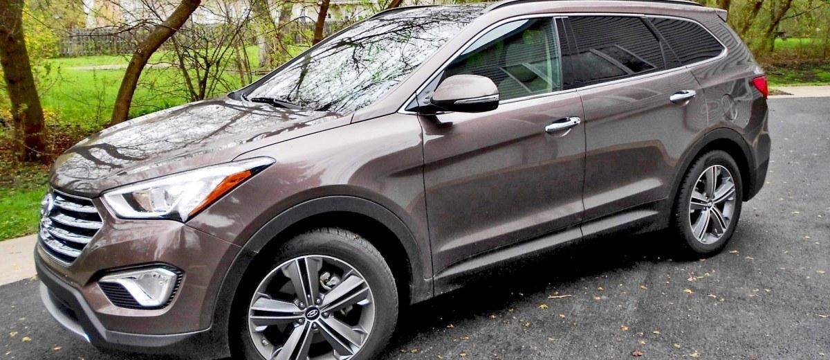 2015 Hyundai Santa Fe Limited AWD 1
