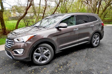 Road Test Review – 2015 Hyundai Santa Fe Limited AWD With Ken Glassman