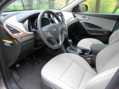 2015 Hyundai Santa Fe Limited AWD 15