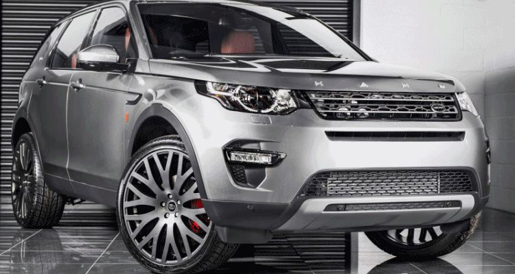 2015 Land Rover Discovery Sport - KAHN Design Ground Effect Edition