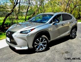 Road Test Review – 2015 Lexus NX200t F Sport AWD With Ken Glassman