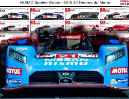 LeMans 2015 Spotters Guide to All Racecars c/o Nissan GT-R LM Nismo – Truly Innovative Excitement?