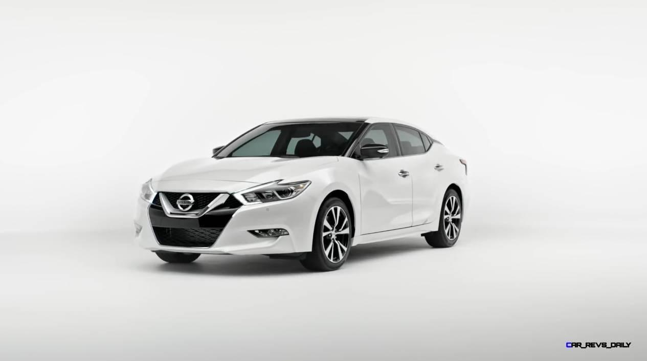 2015 Nissan Maxima SR Black Sport Parts 1