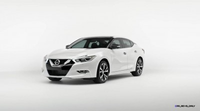 2015 Nissan Maxima SR Black Sport Parts 1