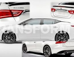 2016 Nissan MAXIMA SR Black Pack Details, Track Test Video and 99 New Photos