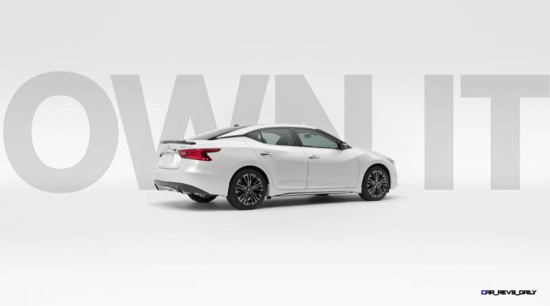2015 Nissan Maxima SR Black Sport Parts 40
