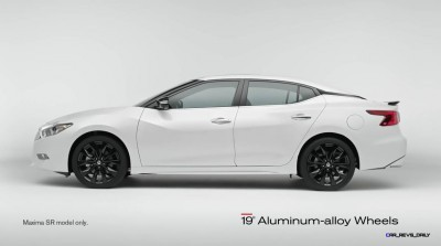 2015 Nissan Maxima SR Black Sport Parts 7