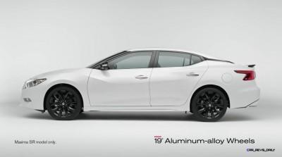 2015 Nissan Maxima SR Black Sport Parts 7
