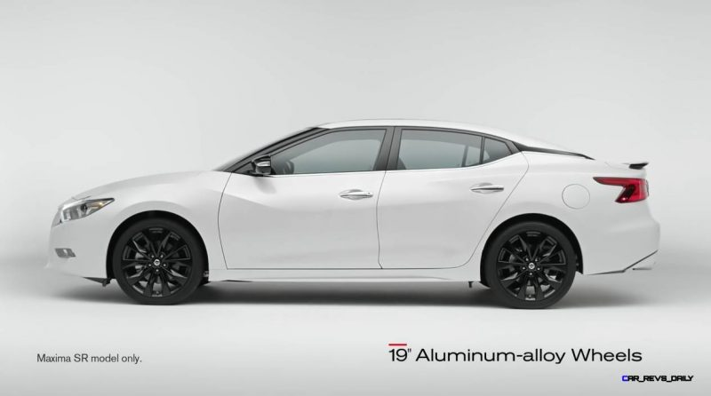 2015 Nissan Maxima SR Black Sport Parts 9