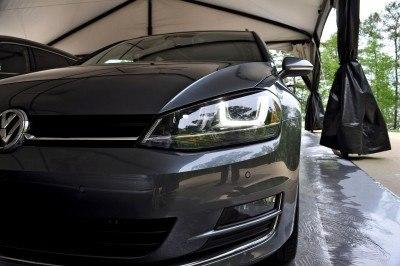 2015 VW Golf Sportwagen TDI SE 2