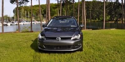 2015 VW Golf Sportwagen TDI SE 24