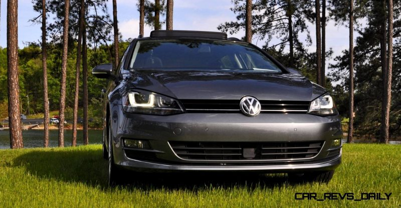2015 VW Golf Sportwagen TDI SE 36