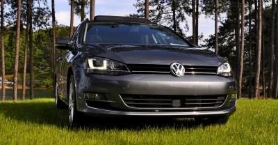 2015 VW Golf Sportwagen TDI SE 37