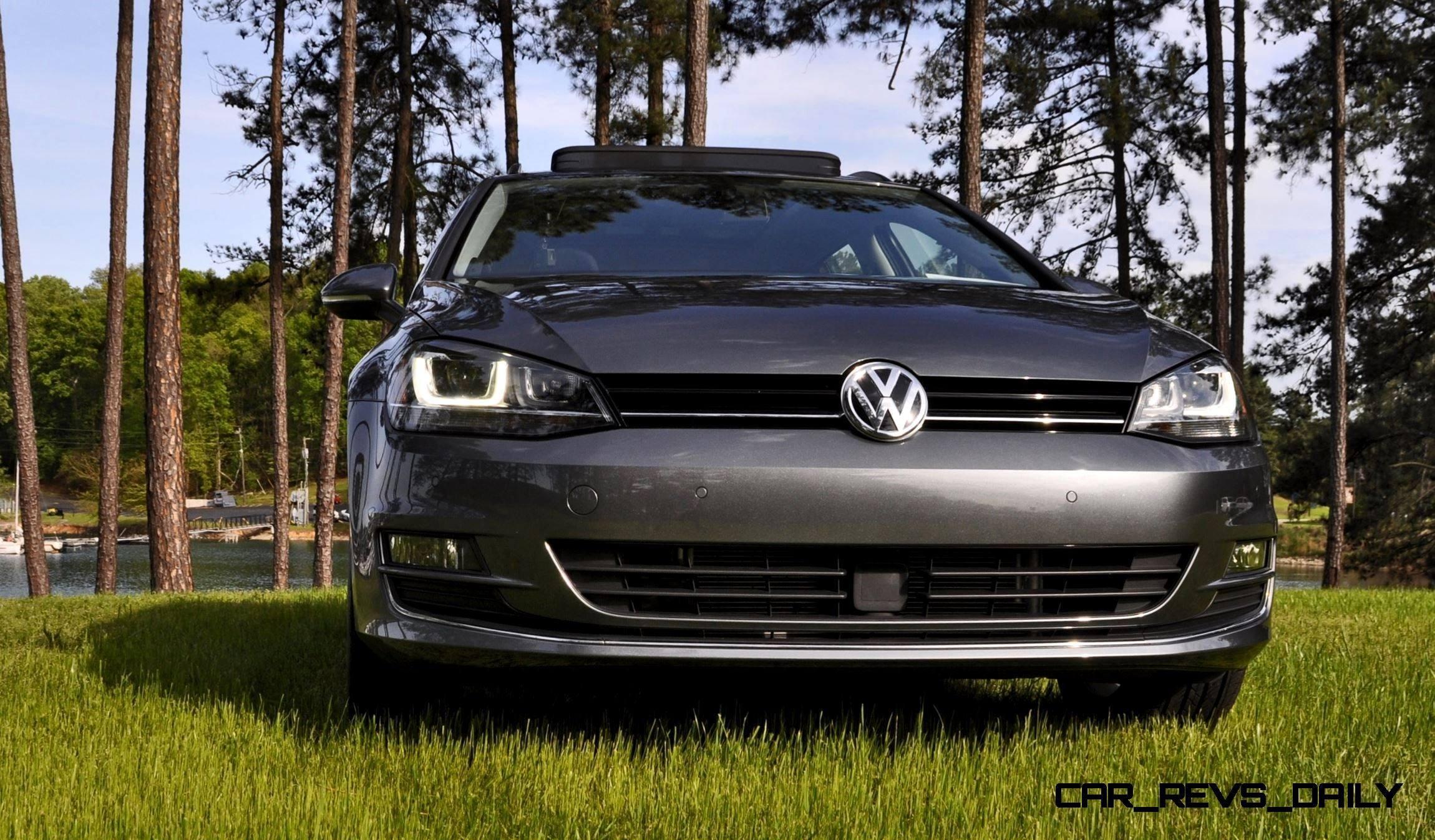 2015 vw golf sportwagen tdi se 39 car revs. Black Bedroom Furniture Sets. Home Design Ideas