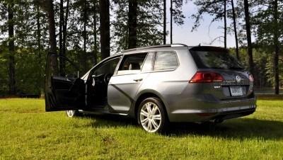 2015 VW Golf Sportwagen TDI SE 5