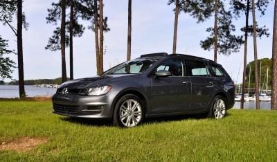 2015 VW Golf Sportwagen TDI SE 51