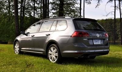 2015 VW Golf Sportwagen TDI SE 60
