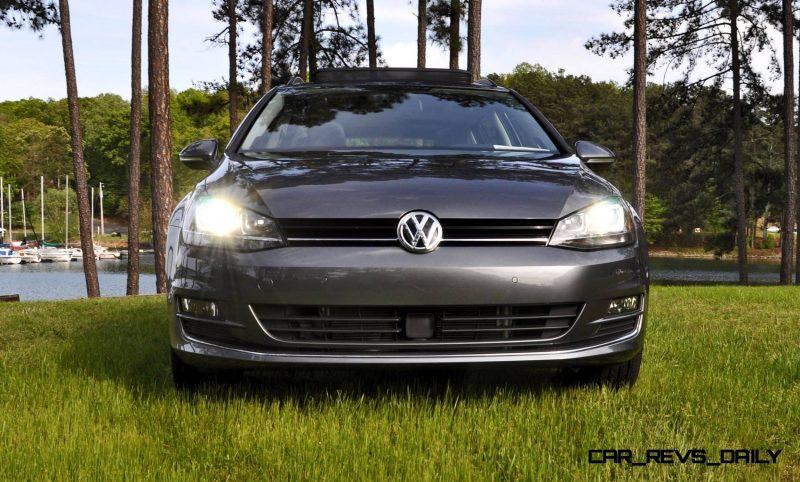 2015 VW Golf Sportwagen TDI SE 62