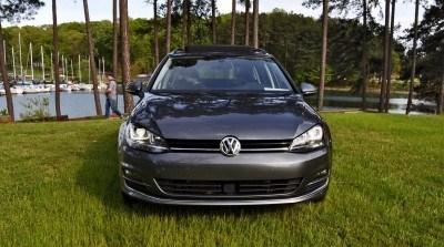 2015 VW Golf Sportwagen TDI SE 64