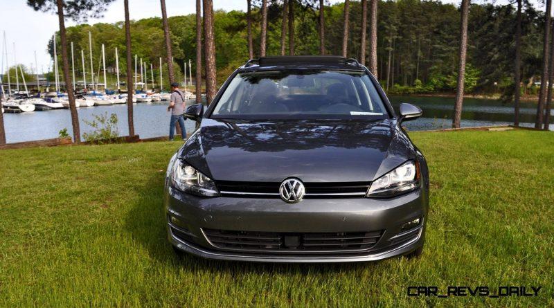 2015 VW Golf Sportwagen TDI SE 66