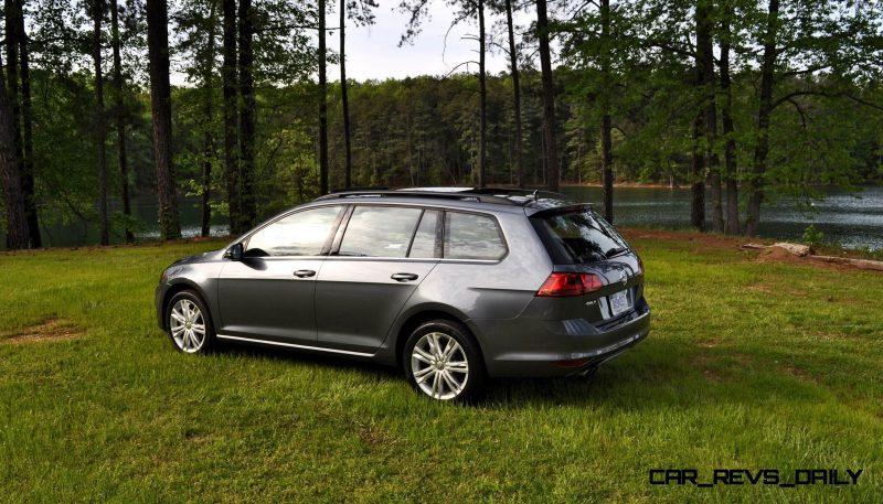 2015 VW Golf Sportwagen TDI SE 69
