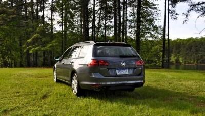 2015 VW Golf Sportwagen TDI SE 71