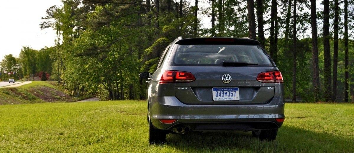 2015 VW Golf Sportwagen TDI SE 73