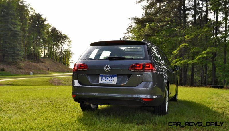 2015 VW Golf Sportwagen TDI SE 74
