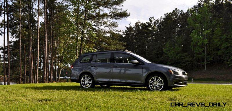 2015 VW Golf Sportwagen TDI SE 82