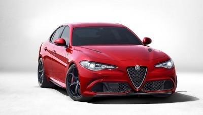 2016 Alfa Romeo GUILIA Quadrifoglio 1