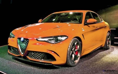 2016 Alfa Romeo Giulia Color Test 11